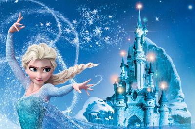 Elsa la reine des neiges - Chateau de glace reine des neiges ...